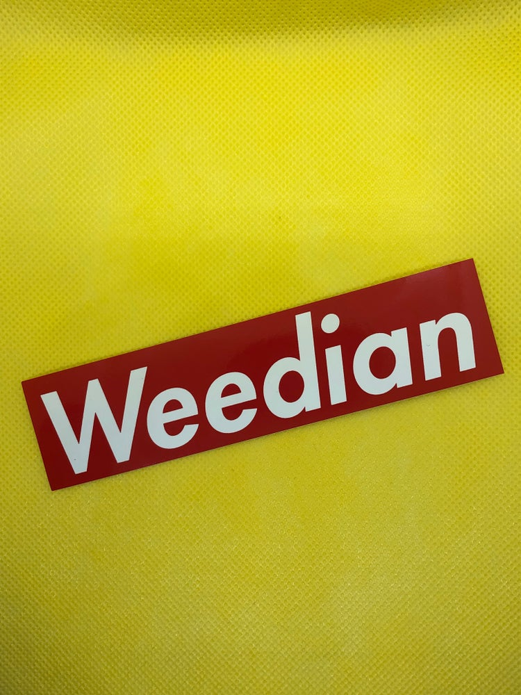 Image of Weedian Sticker