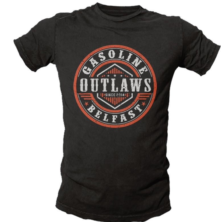Image of Gasoline Outlaws Belfast T-Shirt