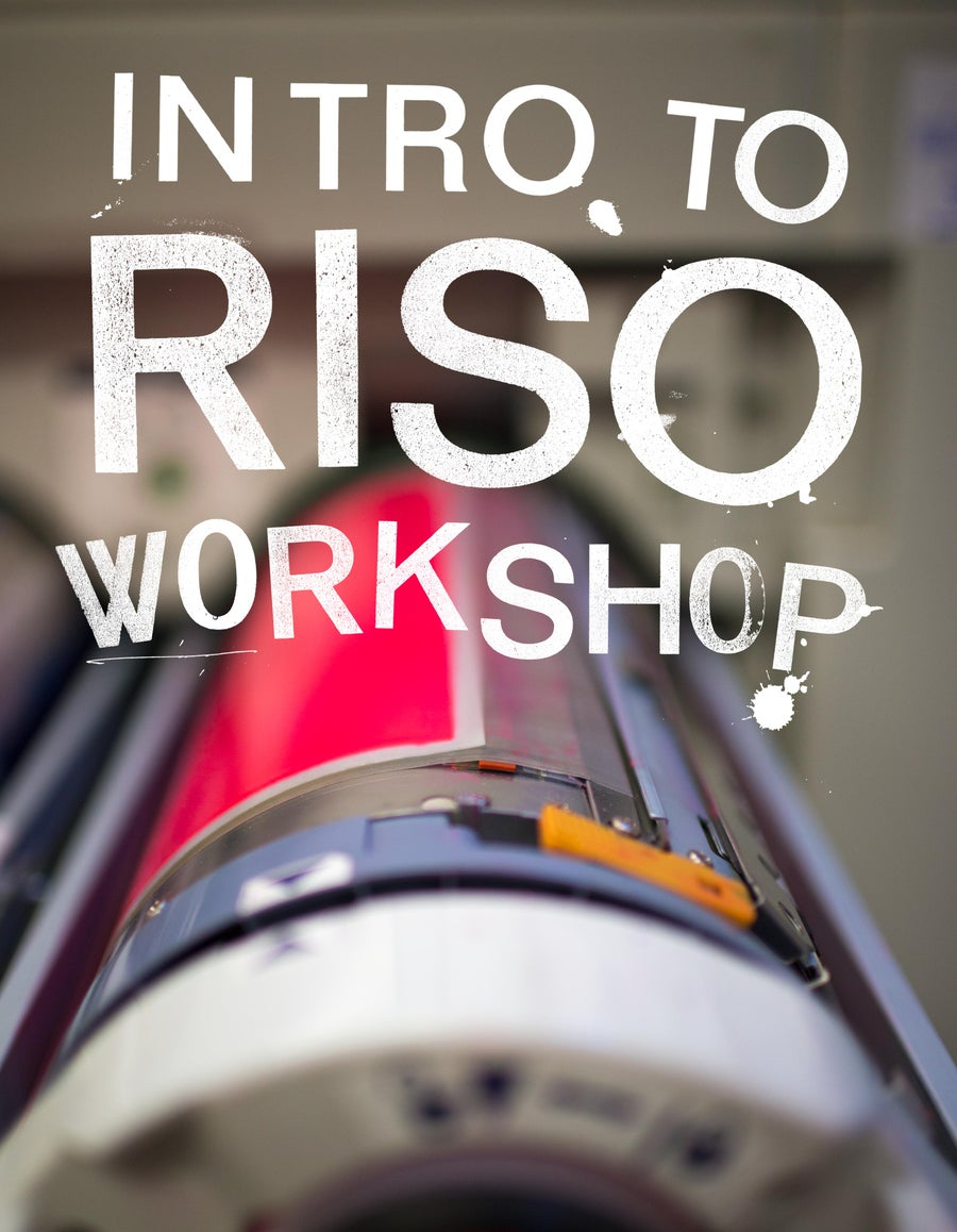 Image of Risograph - introduction to Risograph (Saturday January 25th)