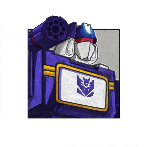 Image of Soundwave Mini Print