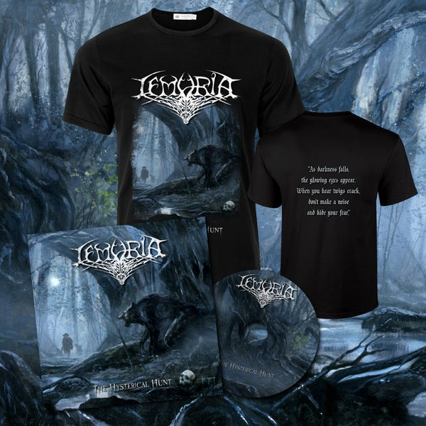 Image of Bundle T-shirt + Album 'The Hysterical Hunt'