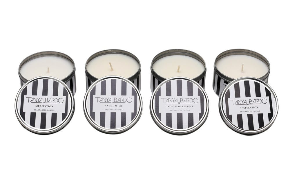 Image of Set of Four Travel Candles for £30.00