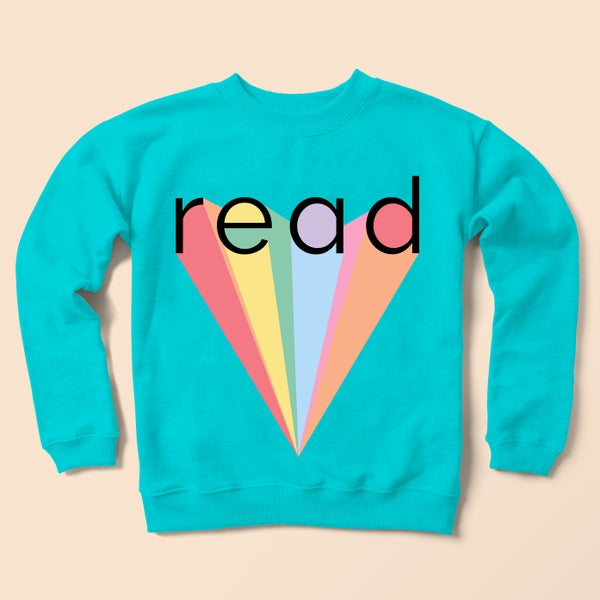 Image of Read Sweatshirt (turquoise)