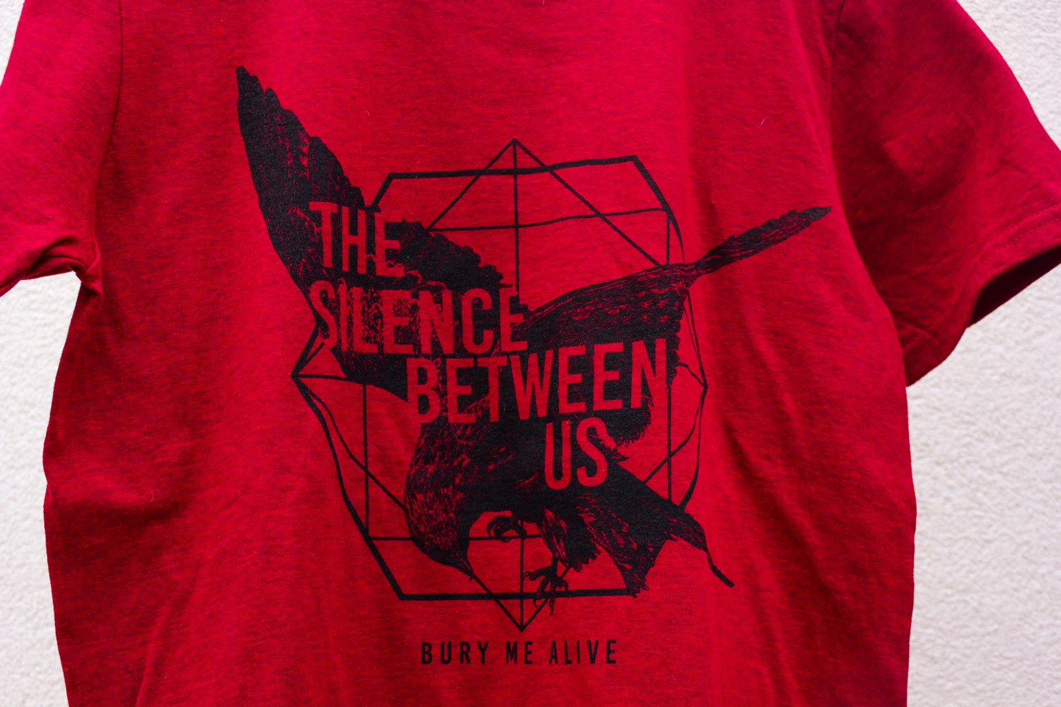 """Image of """"Bury me alive"""" Red T-Shirt"""