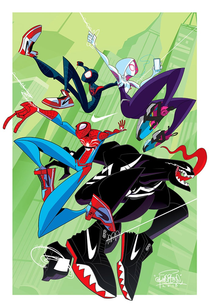 Image of Spidey Fam Print Bundle by KWESTONE