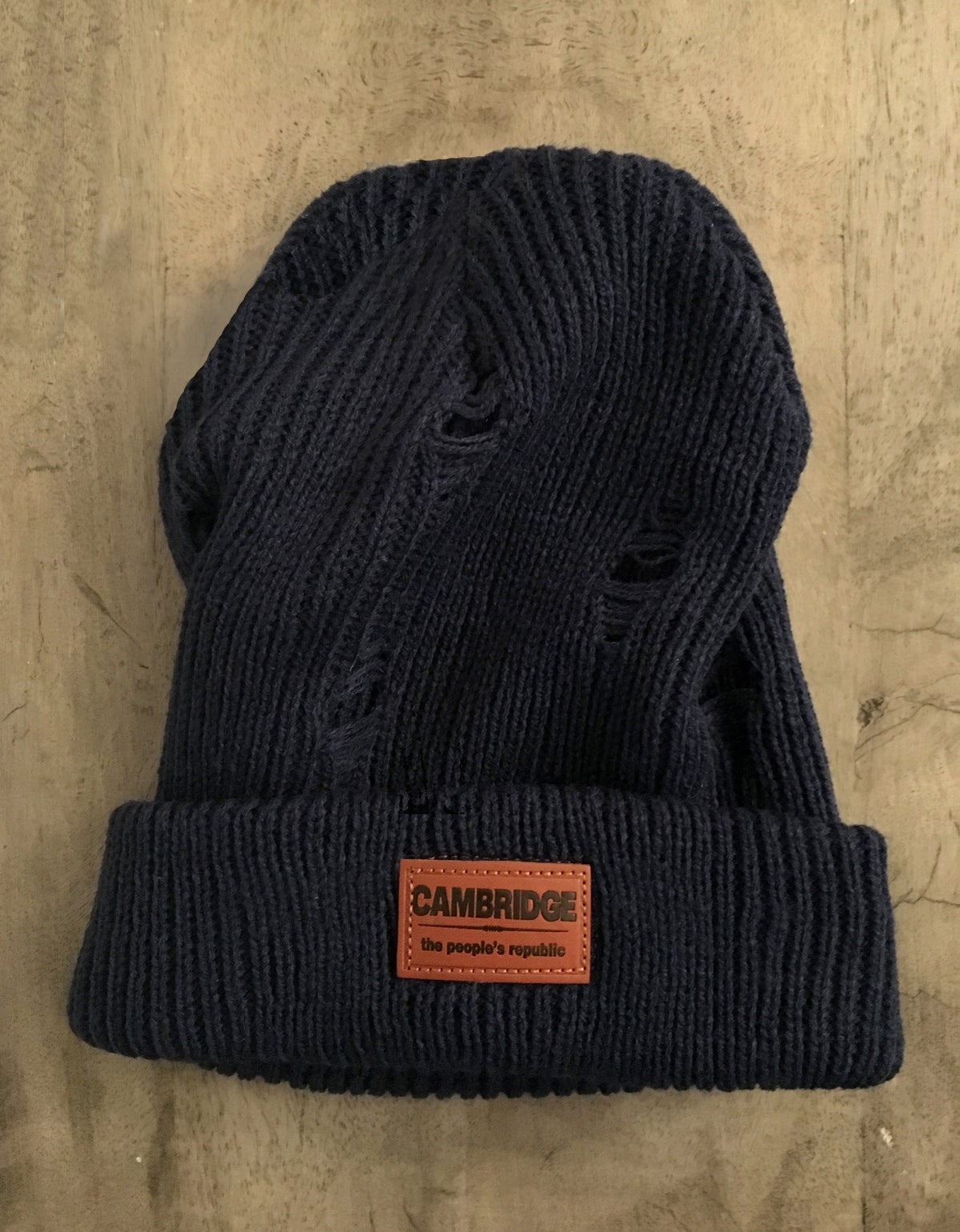 Image of NEW RELEASE Deconstructed Cambridge Beanie