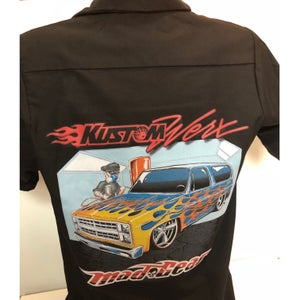 "Image of Work Shirt - ""Kustom Werx Blazer"""
