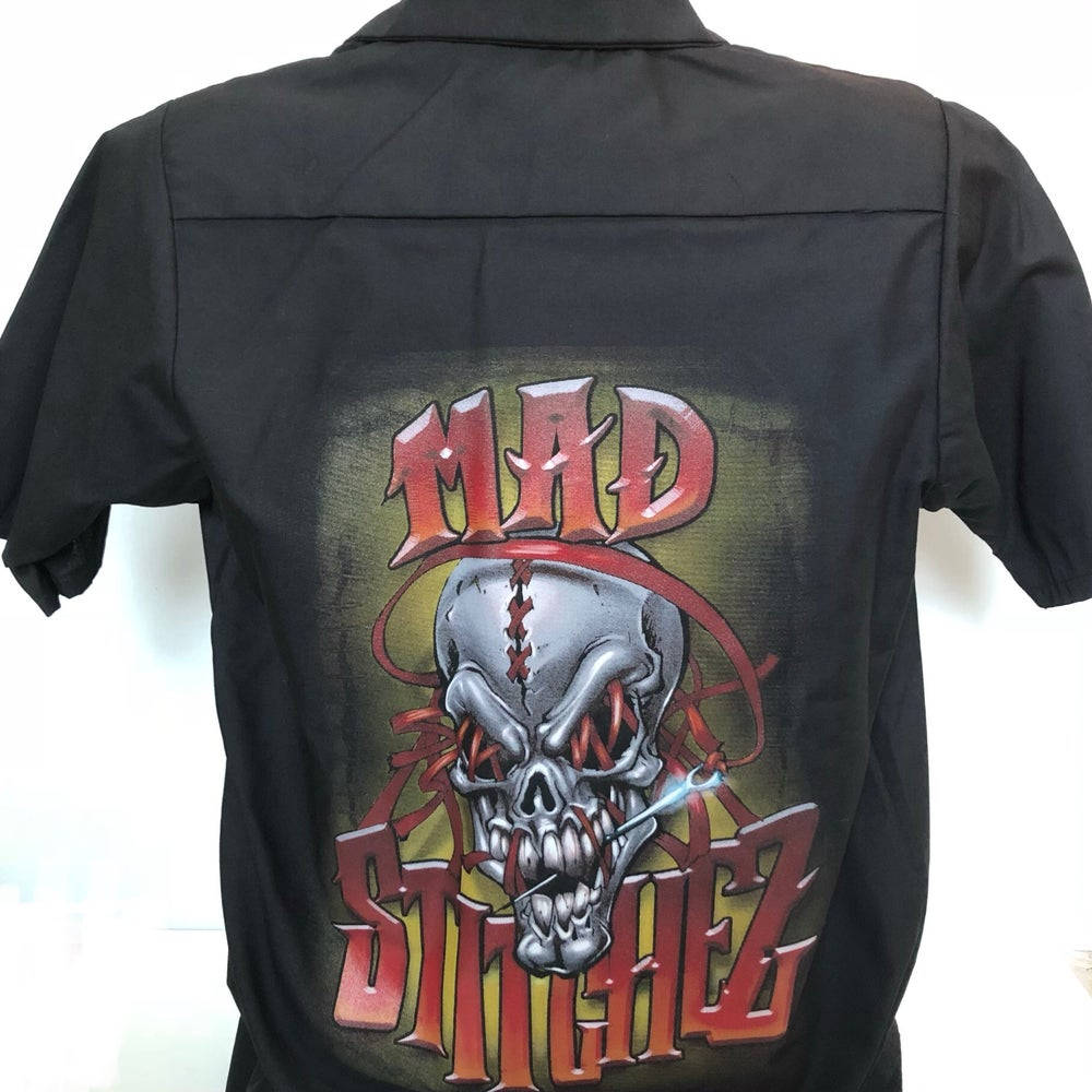 "Image of Work Shirt - ""Mad Stitchez"""