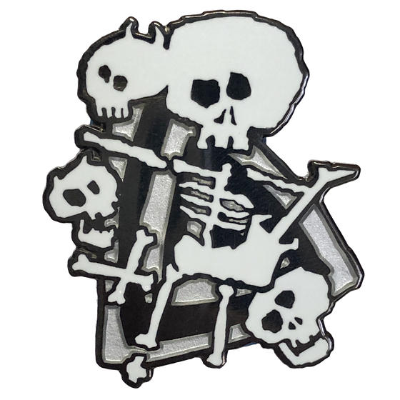 "Image of ""Headbanger's Ball"" 90s MTV Enamel Pin"