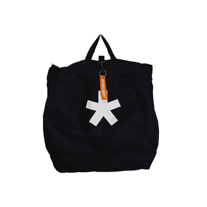 Image of Black Asterisk Tote Bag