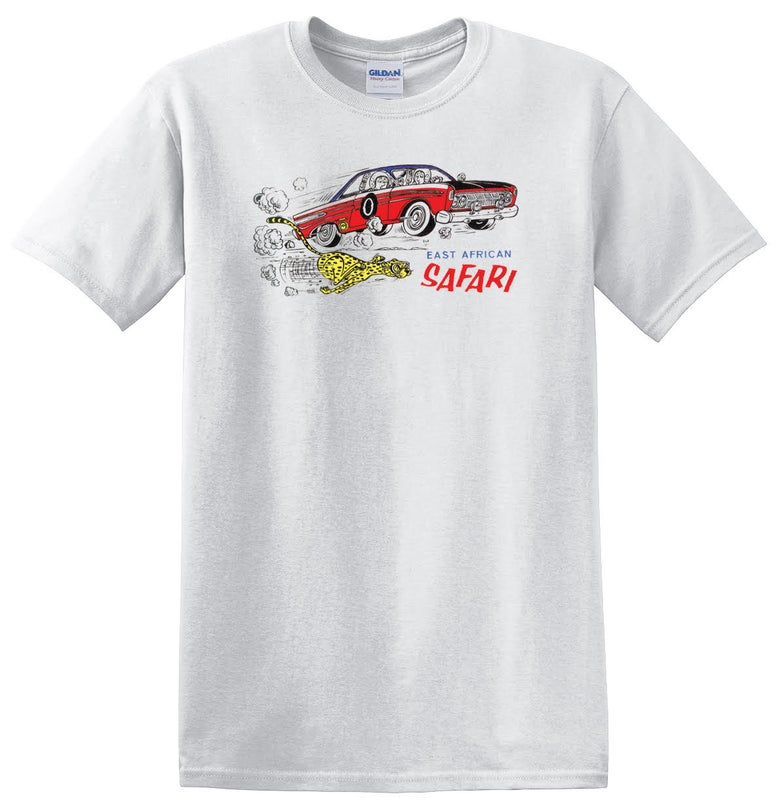 Image of East African Safari - Mercury Comet T-shirt