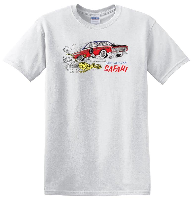 Image of East African Safari - Mercury Comet T-shirt