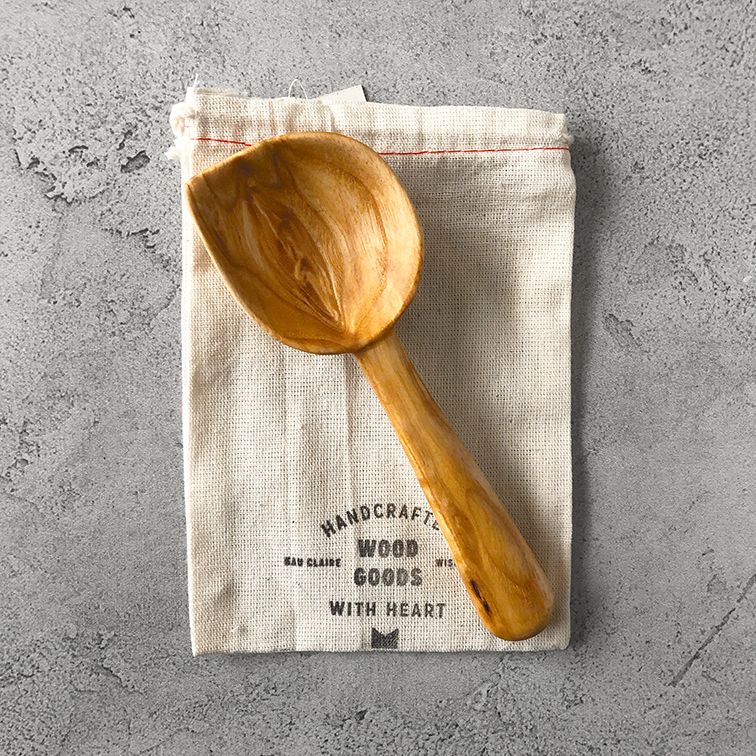 Image of Ash coffee scoop #2