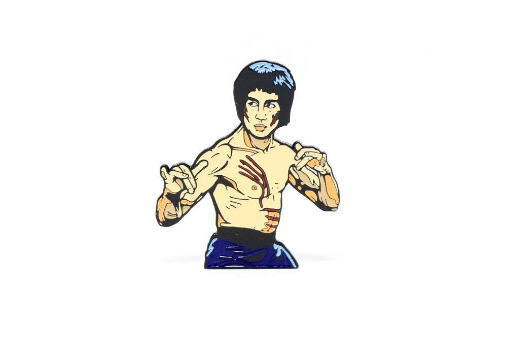 Image of Bruce Lee - Enter The Dragon Enamel Pin