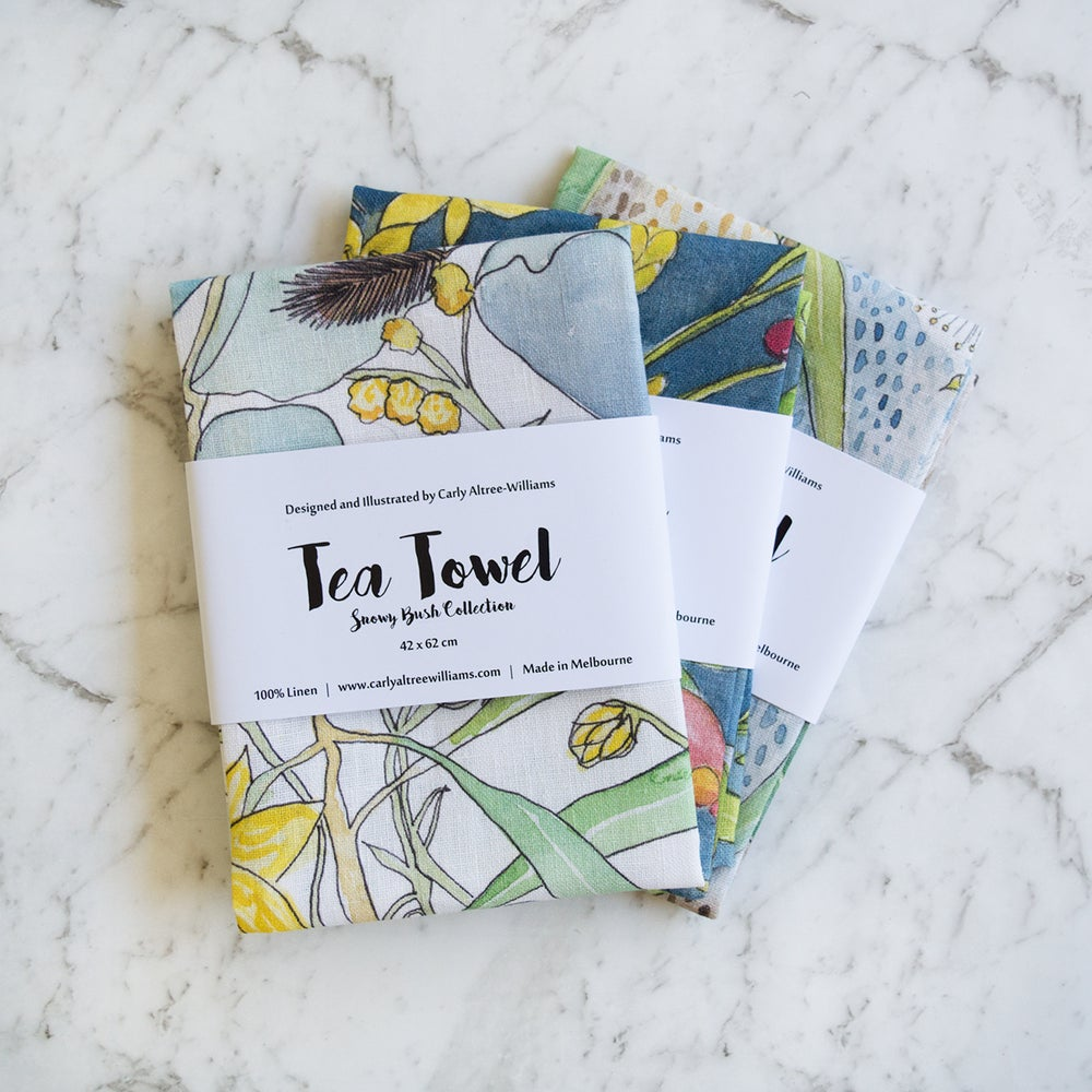 Image of Tea Towel - Darebin Parklands Collection