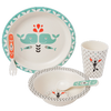 Fresk Bamboo Mealtime Set - Whales