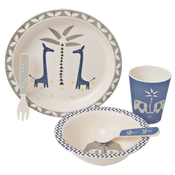 Image of Fresk Bamboo Mealtime Set - Giraffe