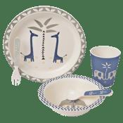 Image of Fresk Bamboo Mealtime Set - Giraffe