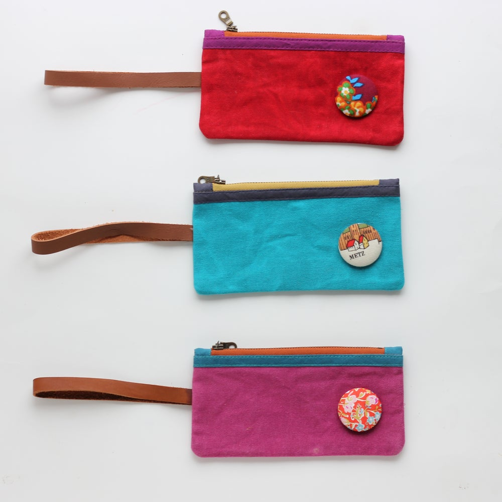 Image of 'Pippi Petit'   -x-  Bob Jones Wristlet //  La Christmas assortment
