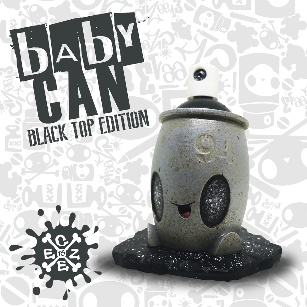 Image of BABY CAN (black top edition)
