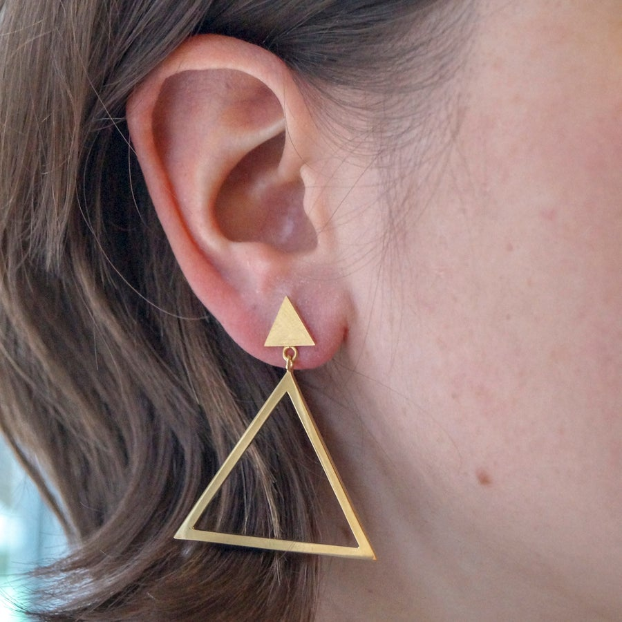 Image of Triangle Hoops