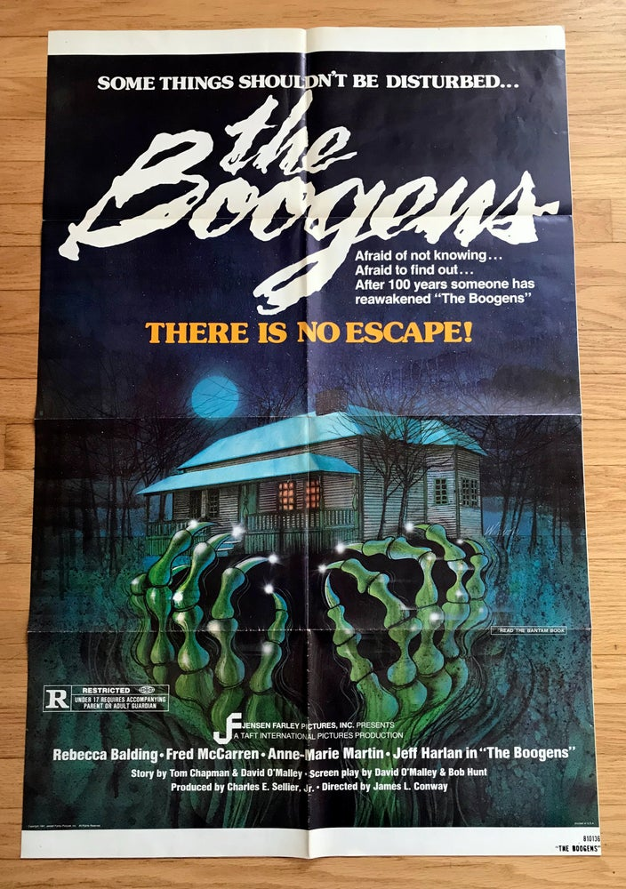 Image of 1981 THE BOOGENS Original U.S. One Sheet Movie Poster