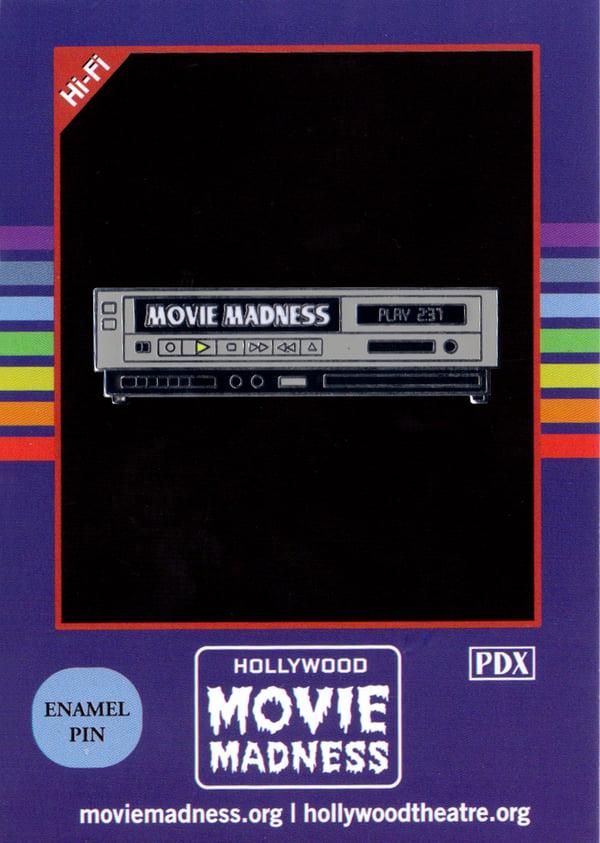 Image of VCR Enamel Pin