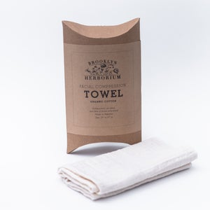 Image of Organic Cotton Facial Compression Towel