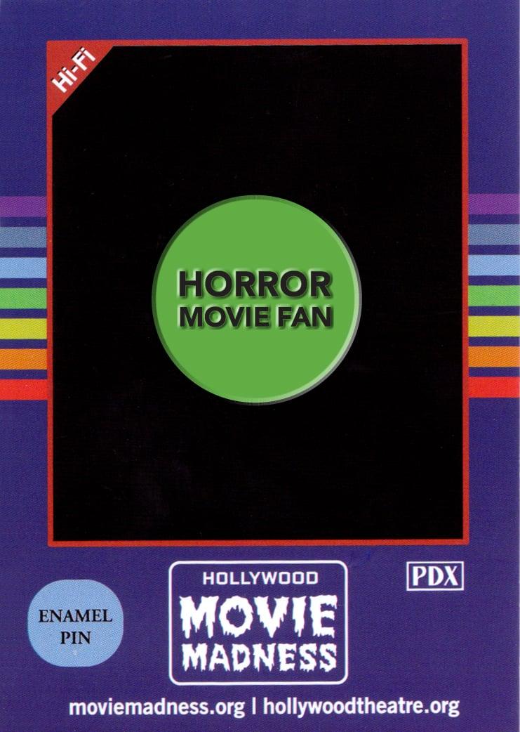 Image of Horror Movie Fan Enamel Pin