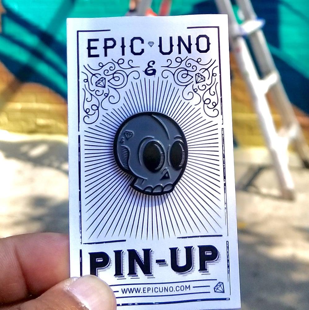 Image of EPIC SKULL PIN (MIDNIGHT)