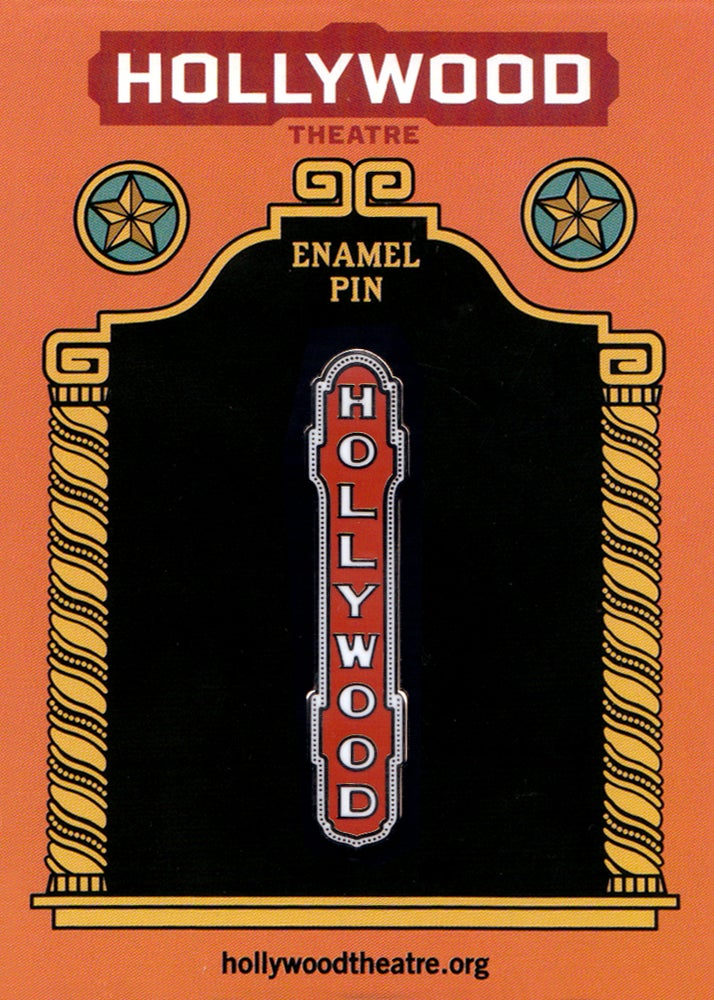 Image of Hollywood Theatre Enamel Pins