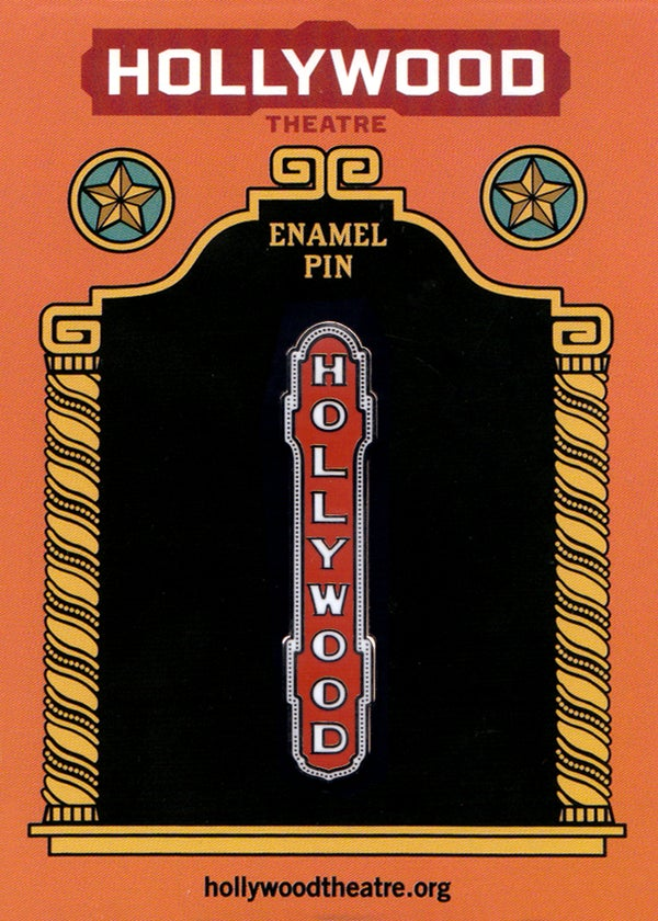 Image of Hollywood Sign Enamel Pin