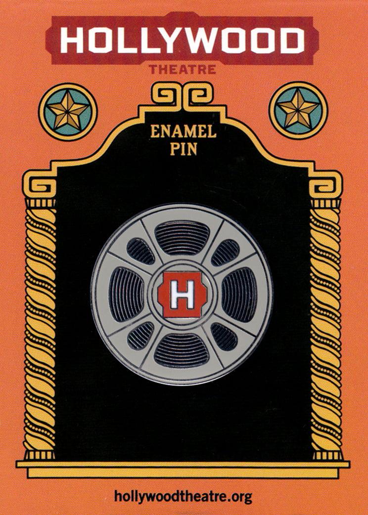 Image of Hollywood Film Reel Enamel Pin