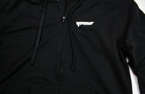 Image of Always Down - Unisex French Terry Zip Hoody