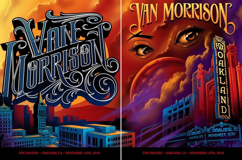 Image of Van Morrison Oakland Posters