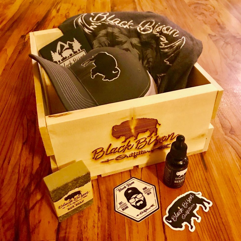 Image of Bison Beard Box - LIMITED Edition