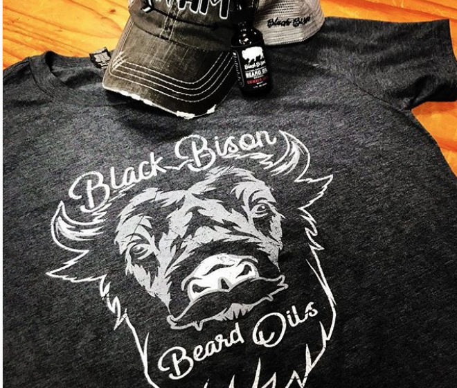 Image of Bison Beard Oil and Shirt Combo