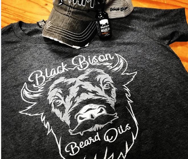Image of Bison Beard Oil and Shirt Combo