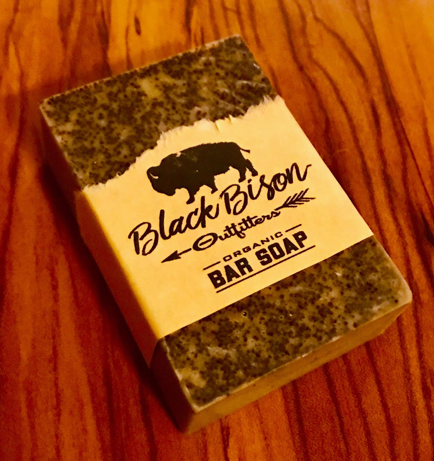 Image of Bison Black Coffee Bar Soap