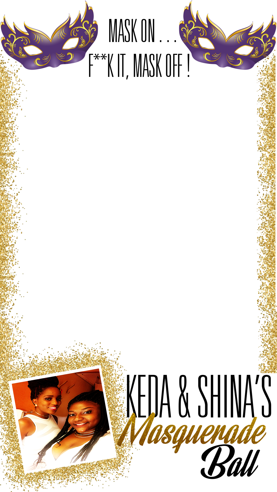 Image of Custom Snapchat Filter Design