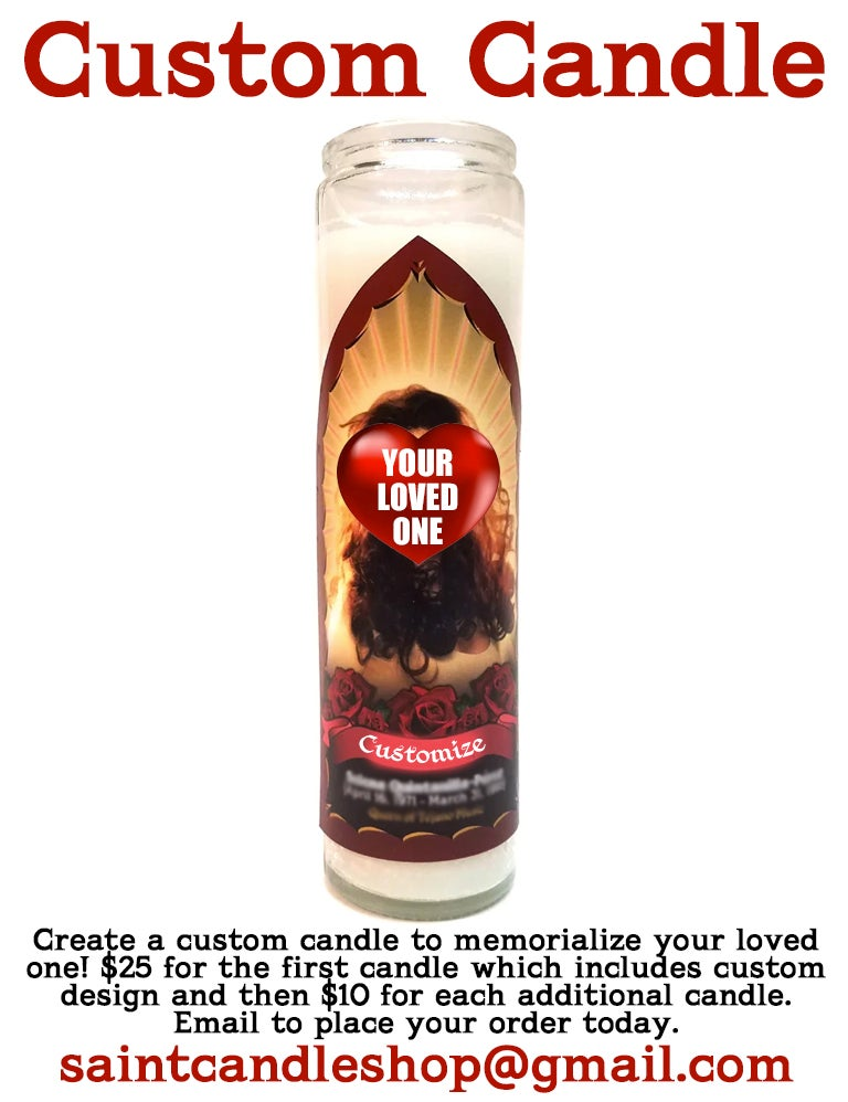 Image of Custom Candle