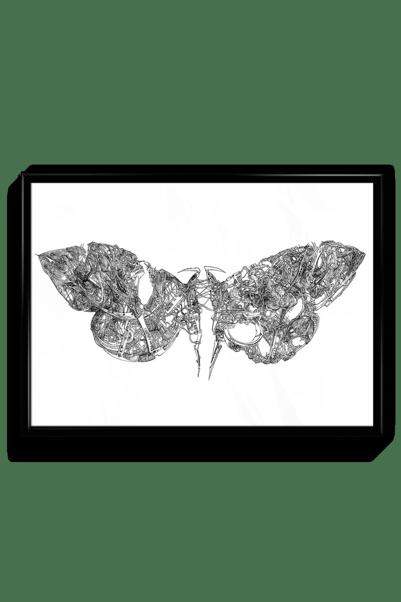 Moth Machine Signed Print Ivan Shopov