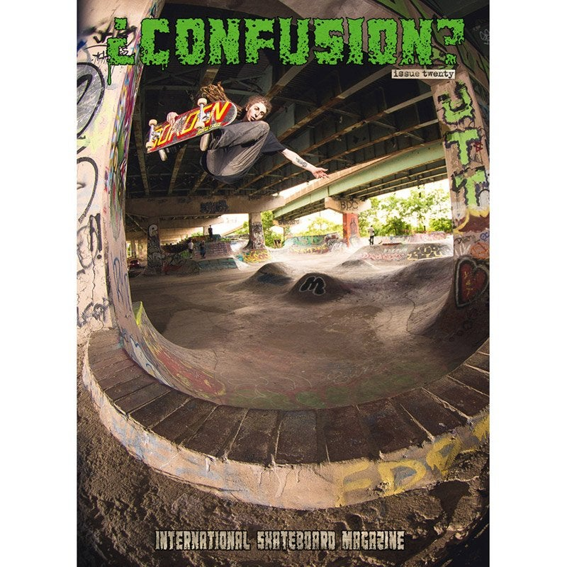 Image of Confusion Magazine - Issue #20 - back issue