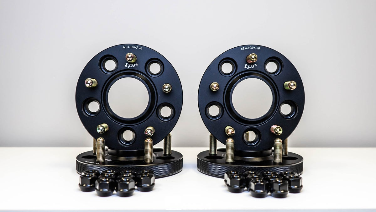 Image of Jaguar F Type 20mm TPI Wheel Spacers