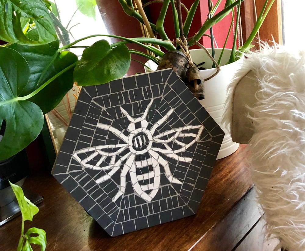 Image of Hexagon Worker Bee Mosaic