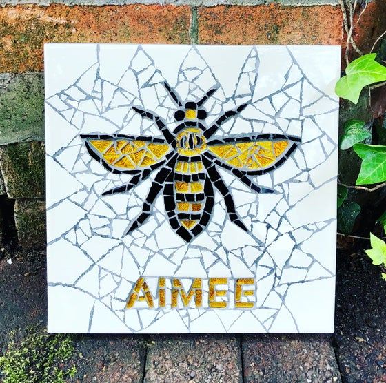 Image of Worker Bee Name Mosaic