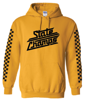 Image of STATE CHAMPS YELLOW RACER HOODIE