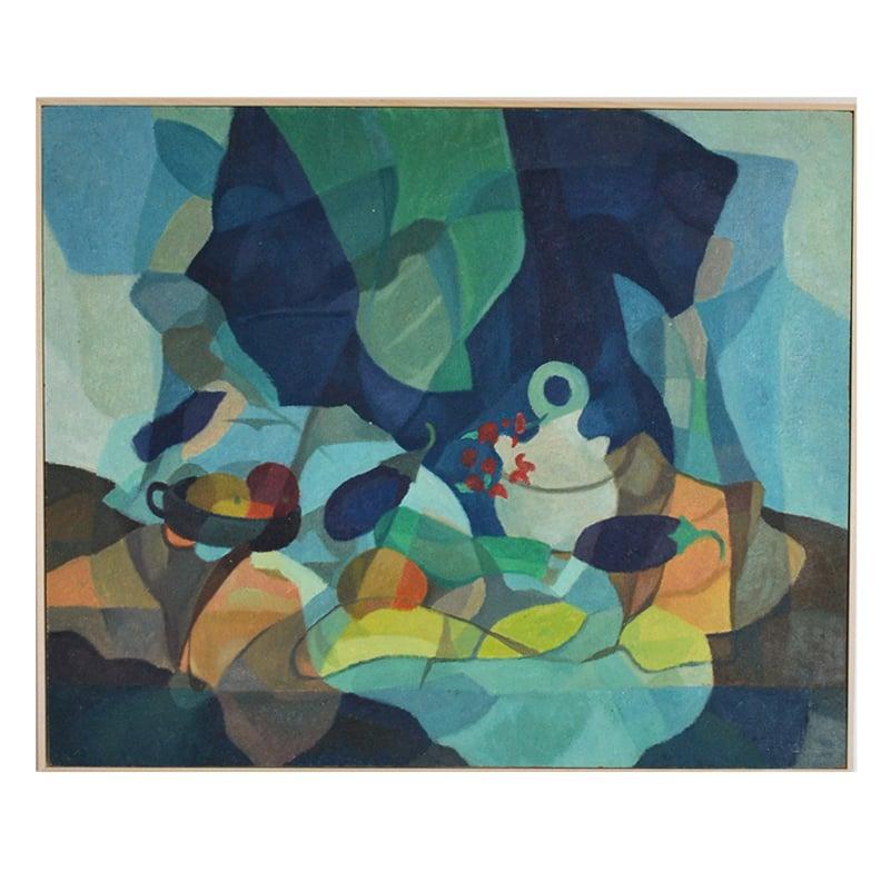 Image of  Mid-century, 'Aubergines' Horas Kennedy (1917-1997)
