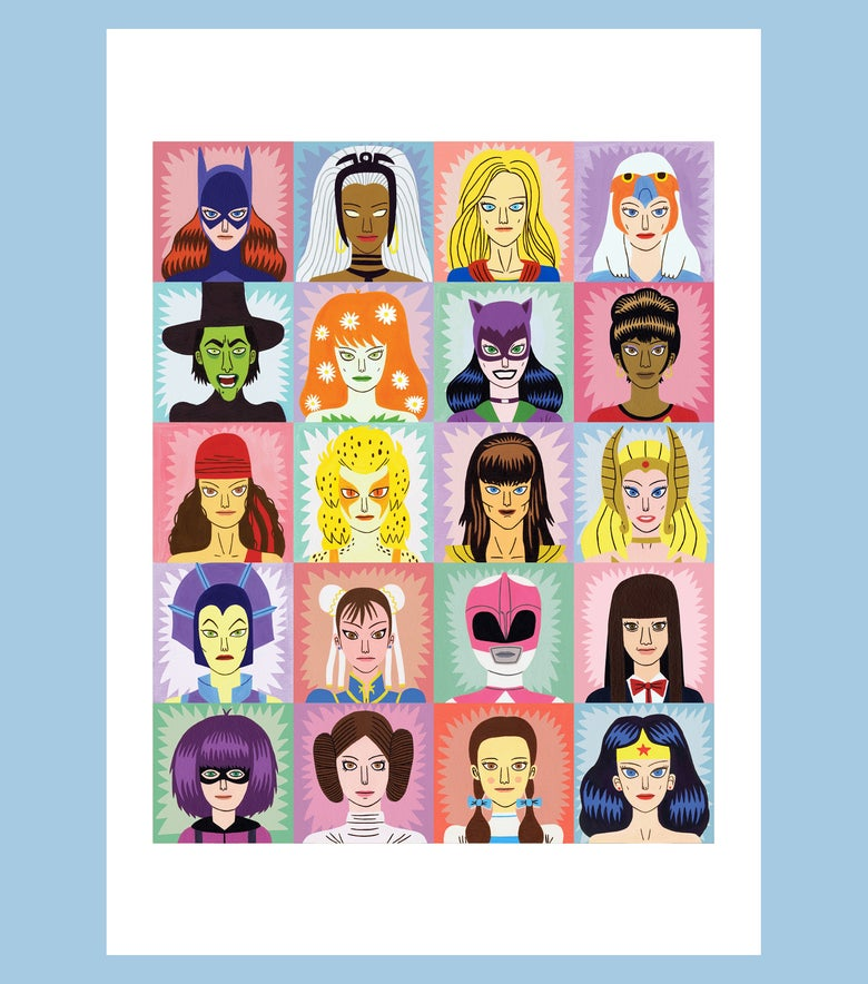 Image of Heroines and Villains