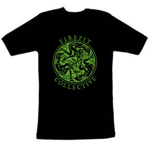 Image of New green design Firepit Colective T shirts
